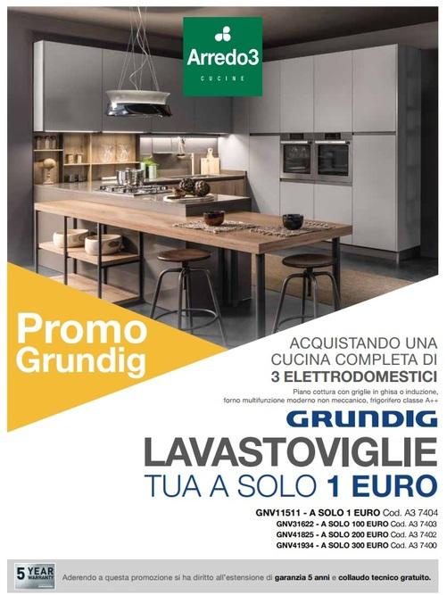 LAVASTOVIGLIE GRUNDIG A SOLO 1 EURO E GARANZIA 5 ANNI (scadenza 30/09/2019)