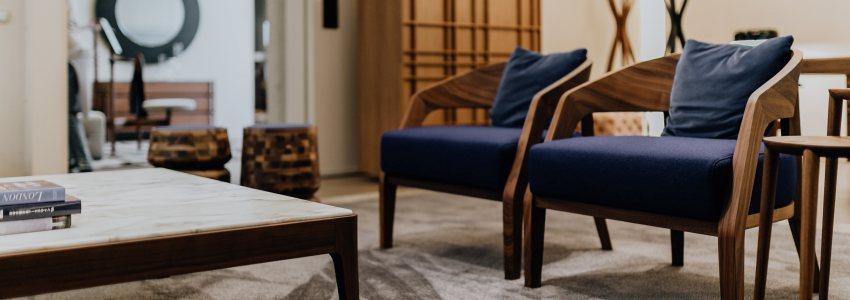 Arredare il soggiorno: tessuti d'arredo