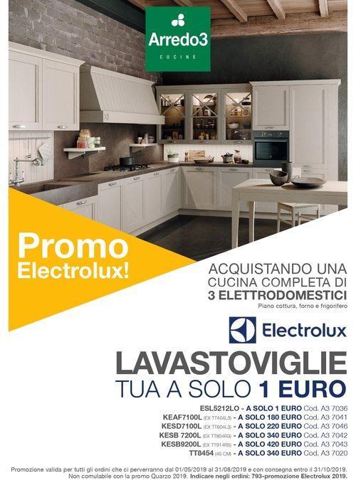LAVASTOVIGLIE ELETTROLUX A SOLO 1 EURO (scadenza 30/08/2019)