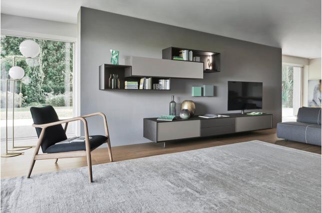 Il salotto moderno: spazio elegante e raffinato