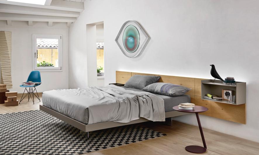 La camera da letto: elegante e raffinata